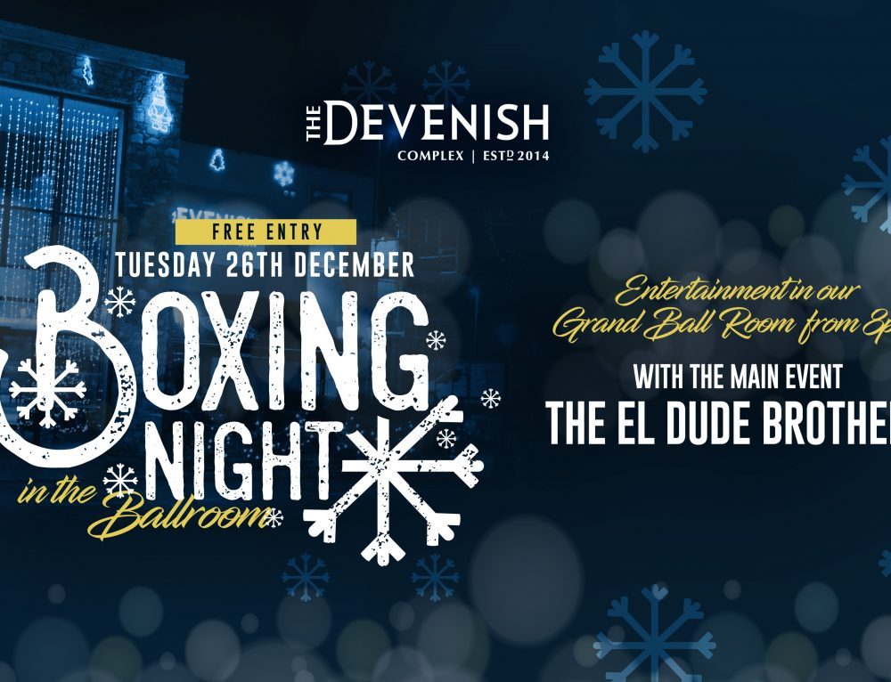 Boxing Night in the Grand Ballroom 2017