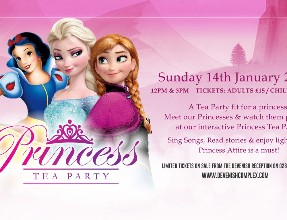 Princess Tea Party Jan 2018