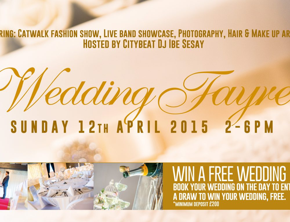 Wedding Fayre 12 April 15