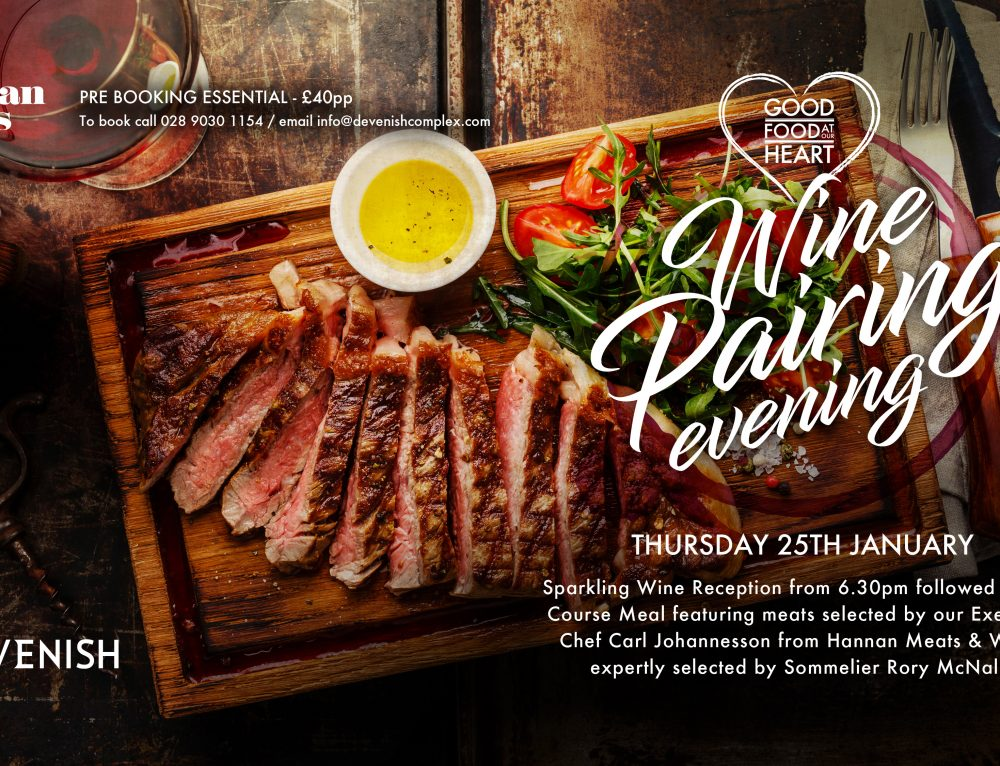 Devenish Wine Pairing Evening Jan 2018