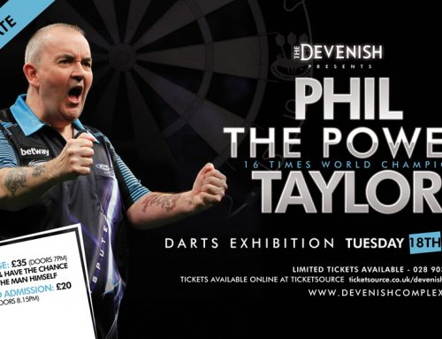 "Phil ""The Power"" Taylor NEW DATE"