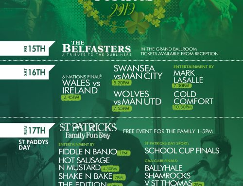 St Patrick's Weekend Rundown